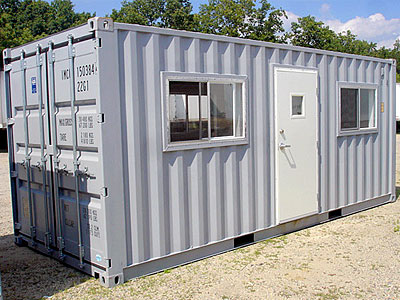 Why Your Next Site Office Should Be A Shipping Container